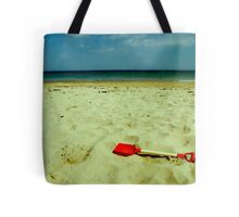 lonely red spade Tote Bag