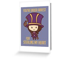Caitlyn: League of Valentines Greeting Card