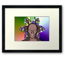 Cartoon Ghoul Framed Print