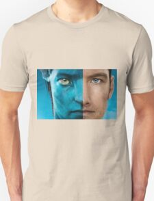 Man face portrait Unisex T-Shirt