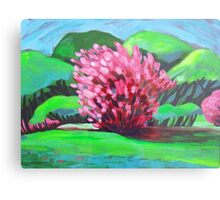 Springtime in the Park Canvas Print