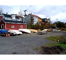 Lunenburg Scene Photographic Print