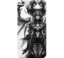 Queen of the darkness iPhone Case/Skin