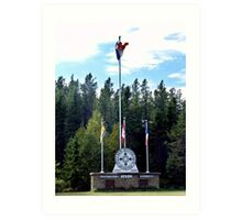 Acadian Village,Entrance Art Print