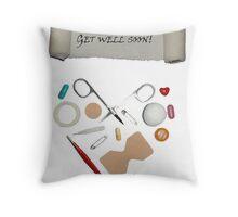 Get well soon! Throw Pillow