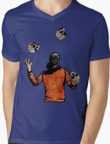 The Juggler Mens V-Neck T-Shirt