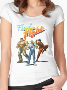 FINAL FIGHT CD Women's Fitted Scoop T-Shirt