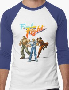 FINAL FIGHT CD Men's Baseball ¾ T-Shirt