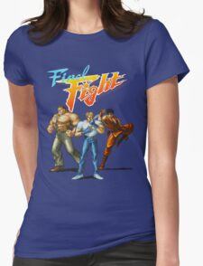 FINAL FIGHT CD Womens Fitted T-Shirt
