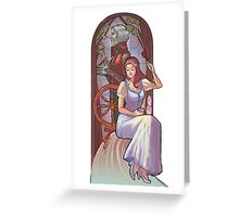 Rumpel and belle Greeting Card