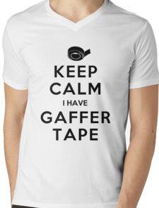 KEEP CALM I HAVE GAFFER TAPE Mens V-Neck T-Shirt
