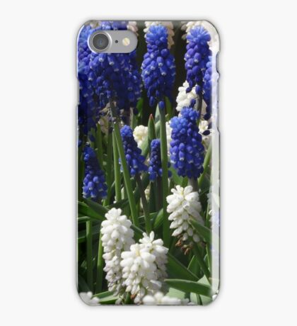 Purple and White iPhone Case/Skin