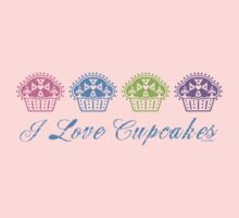 I love cupcakes  Kids Clothes