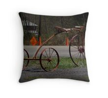 A Really Big Trike Throw Pillow
