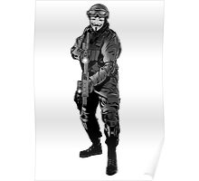 Anonymous Soldier Poster