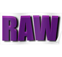 purple raw Poster