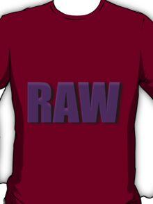 purple raw T-Shirt