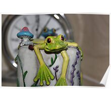 TIME FOR A FROG-KISS Poster