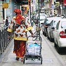 A Saturday Shopper by Patricia127