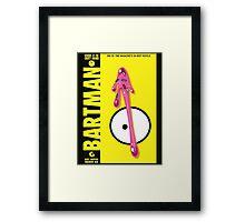BARTMAN Framed Print