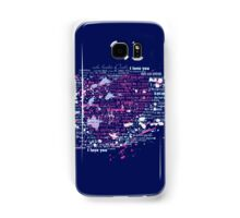 Multi-lingual Message of Love Samsung Galaxy Case/Skin