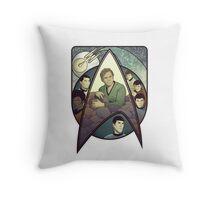 Star Trek Art Nouveau Throw Pillow