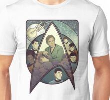 Star Trek Art Nouveau Unisex T-Shirt