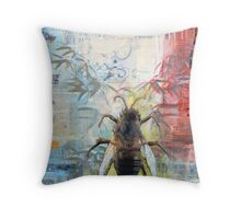 Hive Mentality Throw Pillow