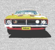 Ford Falcon Tshirt One Piece - Long Sleeve