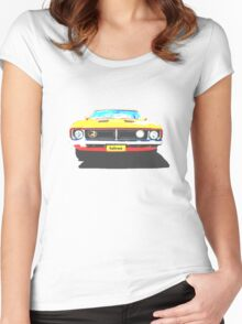 Ford Falcon Tshirt Women's Fitted Scoop T-Shirt