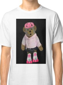 """。◕‿◕。 """"WHAT"""" YOU DIDN'T KNOW TEDDY BEARS CAN ROLLER SKATE WELL YOUR LOOKIN AT ONE!!..PILLOWS,TOTE BAG,PICTURE,BOOKS,CARDS,。◕‿◕。  Classic T-Shirt"""