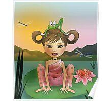Frog Yoga Poster