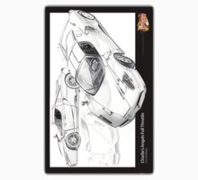 MovieRepliCars Sticker 1 - Charlie's Angel's Ferrari Enzo by ea-photos