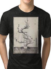 Shofu Enshuryu ikebana hamana no umi Flower Arrangement Toto Shoshi V2 1835 0013 Tri-blend T-Shirt