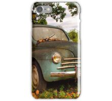 Old Glory - Renault 4CV iPhone Case/Skin