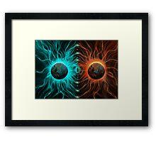 Duality Reality Framed Print