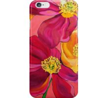 Red & Yellow Poppies iPhone Case/Skin