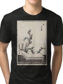 Shofu Enshuryu ikebana hamana no umi Flower Arrangement Toto Shoshi V3 1835 0038 Tri-blend T-Shirt