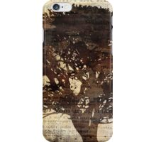Trees sing of Time - Vintage 2 iPhone Case/Skin