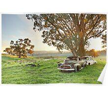 End of the Road, Bendigo, Australia Poster