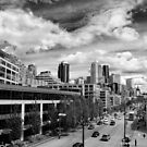 DownTown Seattle on a Bright and Sunny Day by Jenny Ryan