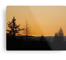 Pacfic Northwest Sunset Metal Print