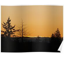 Pacfic Northwest Sunset Poster