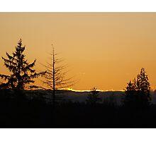 Pacfic Northwest Sunset Photographic Print