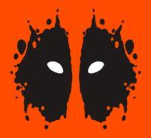 Deadpool Rorschach Test Kids Clothes