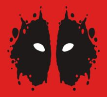 Deadpool Rorschach Test Kids Clothes