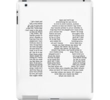 One Direction - 18 [Black] iPad Case/Skin
