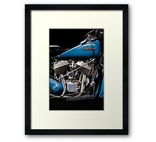 1948 Indian Chief engine Framed Print