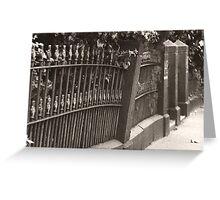 Bank Street Greeting Card