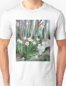 Narcissus in the Forest T-Shirt